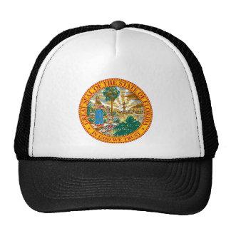 Florida Great Seal Mesh Hats
