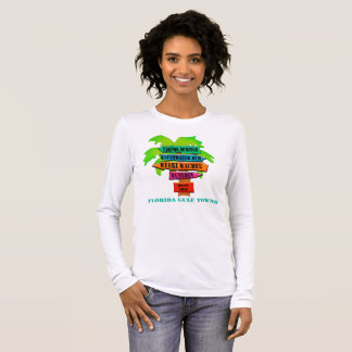 Florida Gulf Towns Long Sleeve T-Shirt