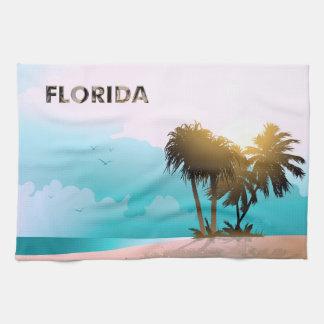 Florida Hand Towel