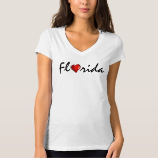 Florida Heart Hurricane Irma Support Shirt
