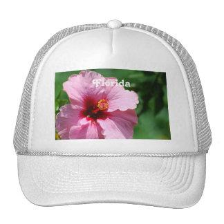 Florida Hibiscus Mesh Hat