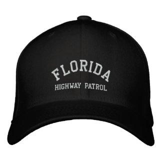 FLORIDA, HIGHWAY PATROL EMBROIDERED BASEBALL CAPS