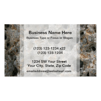 florida holey rock limestone caves pack of standard business cards