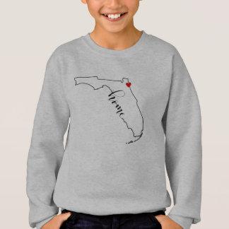 Florida Home Jacksonville Kid's Sweatshirt