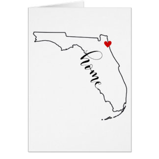 Florida Home Jacksonville Note Cards