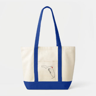 Florida Home Jacksonville Tote Bag
