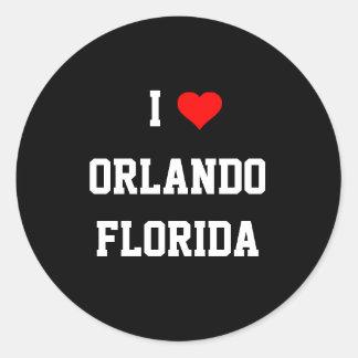 FLORIDA: I Love Orlando, Florida Sticker