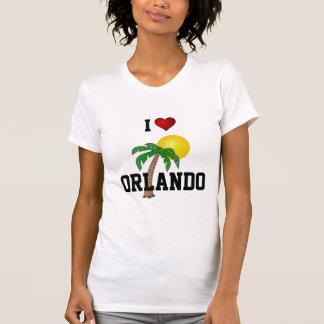 Florida: I Love Orlando palm tree and sun Tee Shirts