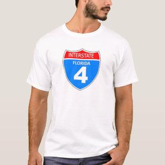 Florida Interstate 4 T-Shirt