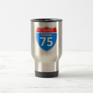 Florida Interstate 75 Travel Mug