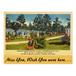 Florida, Jacksonville, Green Acres Postcard