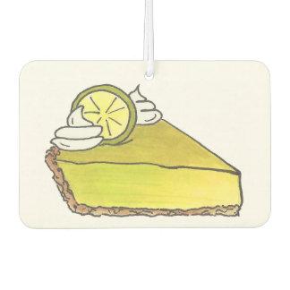 Florida Key Lime Pie Slice Dessert Air Freshener
