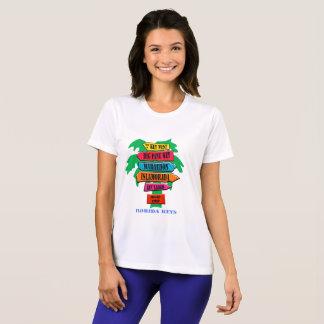 Florida Keys Road Sign T-Shirt