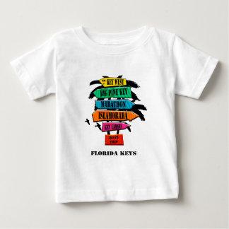 Florida Keys Road Trip Sign Baby T-Shirt