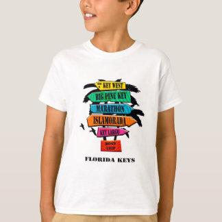 Florida Keys Road Trip Sign T-Shirt