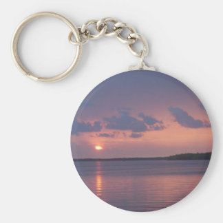 Florida Keys Sunset Key Ring