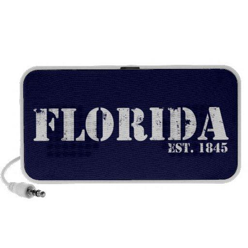 Florida Logo Doodle Mp3 Speakers