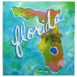 Florida Logo Napkin