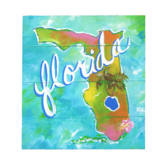 Florida Logo Notepad