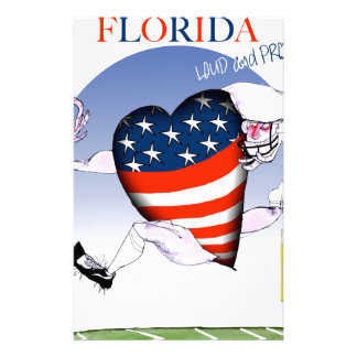 florida loud and proud, tony fernandes stationery