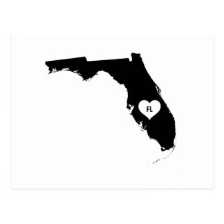 Florida Love Postcard