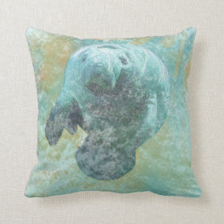 Florida Manatee | Throw Pillow