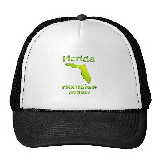 Florida Memories Mesh Hat