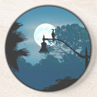 Florida Moonlight Coaster