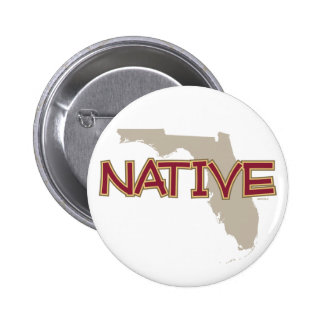 Florida NATIVE 6 Cm Round Badge
