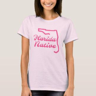 Florida Native Floridian Pink T-shirt