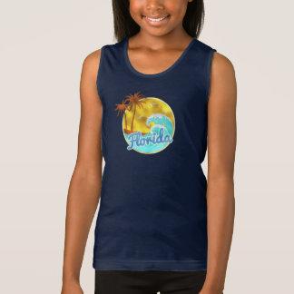 Florida, Ocean wave, Palm Trees Tee Shirt