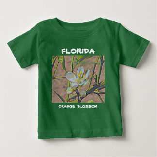 Florida Orange Blossom Baby T-Shirt