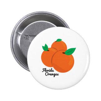 Florida Oranges 6 Cm Round Badge