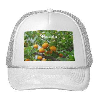 Florida Oranges Mesh Hats
