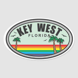 Florida Oval Sticker