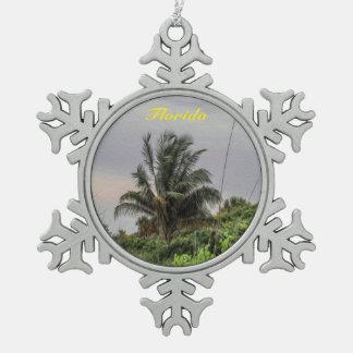 Florida Palm Tree Christmas Ornament