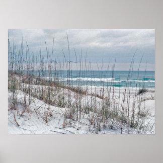 Florida Panhandle Beach Poster