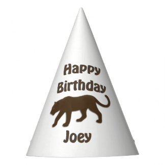 Florida Panther Birthday Party Hat