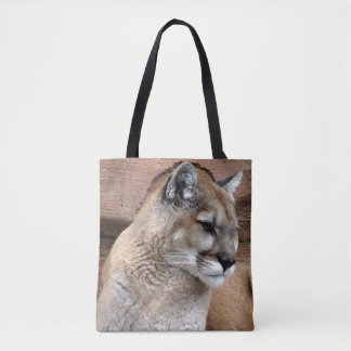 Florida Panther / Cougar Tote Bag