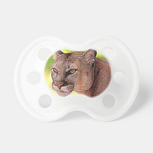 Florida Panther Baby Pacifier