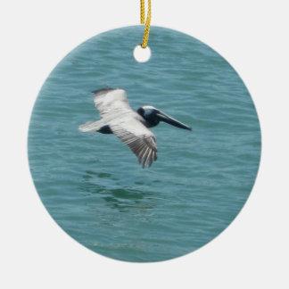 Florida Pelican Flight Ornament