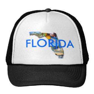 FLORIDA PICTURE DESIGN TRUCKER HAT