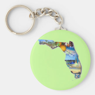 FLORIDA PICTURE DESIGN KEY RING