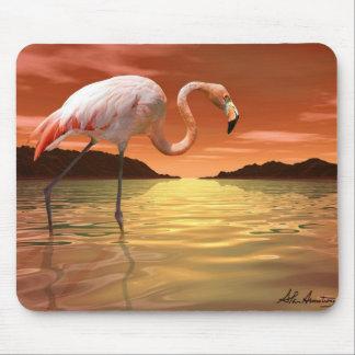 Florida Pink Flamingo Mousepad