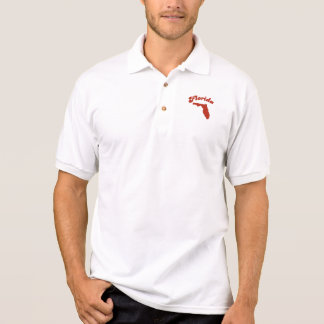 FLORIDA Red State Polo Shirts