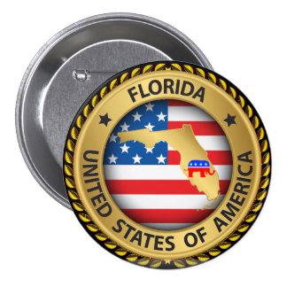 Florida Republican Election Button - srf