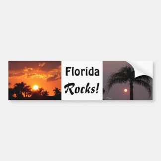 Florida Rocks Bumper Sticker