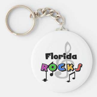 Florida Rocks Key Ring