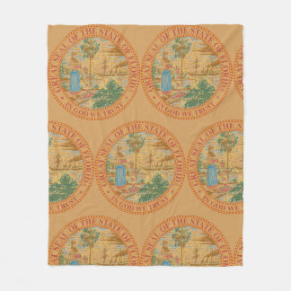 Florida Seal Fleece Blanket