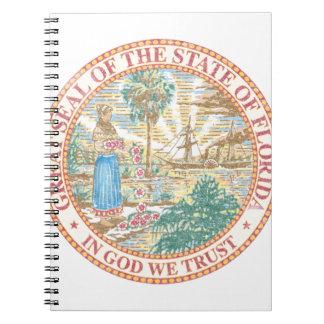 Florida Seal Spiral Notebook